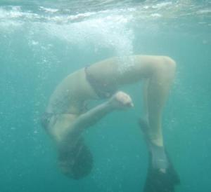 Snorkeling in Hawaii.  I've had a very happy life, yes!