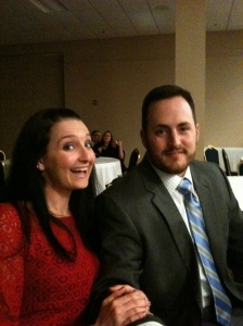 at duggs' work's winter party - we had a blast, and i felt pretty good.